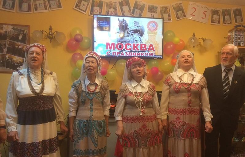 хор ветеранов Замоскворецкие зори